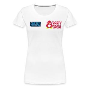 Womans Party Crew  - Women's Premium T-Shirt