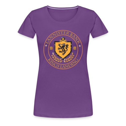 Lannister Bank (F) - Women's Premium T-Shirt