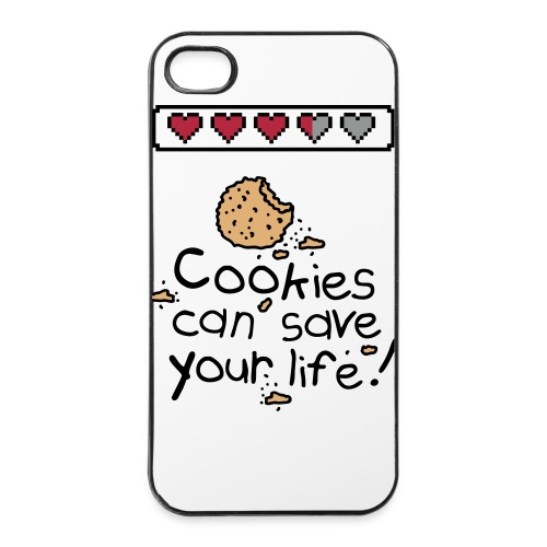 Cookies Can Save Lifes! Iphone 4/ 4's Cover - iPhone 4/4s Hard Case