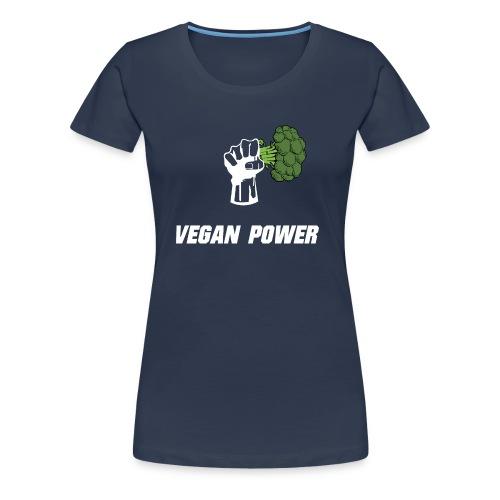Vegan power Women's t shirt - Women's Premium T-Shirt