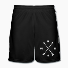 Hipster compass / Cross - Modern Trendy Outfit Trousers & Shorts