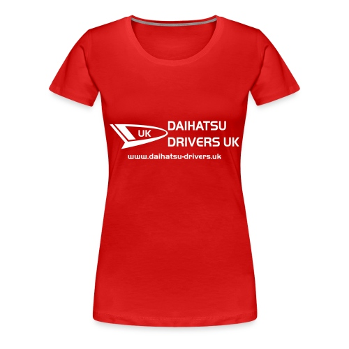 DD Ladies Red T-Shirt - Women's Premium T-Shirt