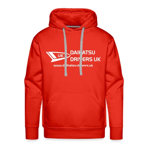 Daihatsu Drivers Hooded Top - Men's Premium Hoodie