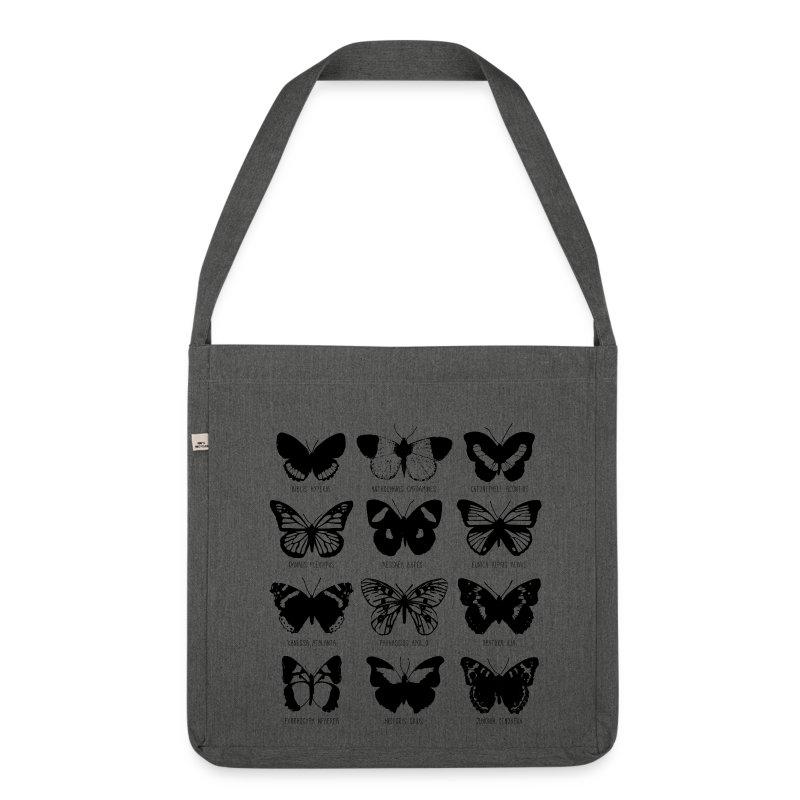Sac Papillons - Sac bandoulière 100 % recyclé