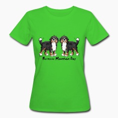 Two funny Bernese Mountain Dogs - Dog T-Shirts
