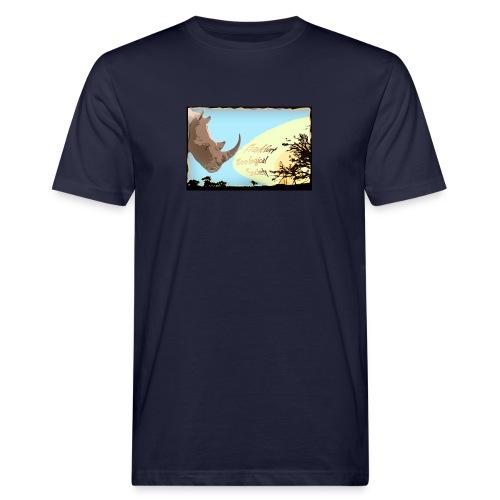 Rhino T-Shirt für Männer - Männer Bio-T-Shirt