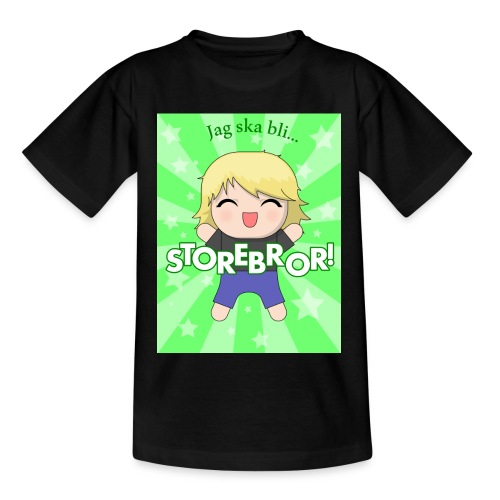 Blivande storebror! (3-8 år) - T-shirt barn
