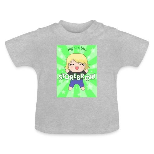 Blivande storebror! (3-24 månader) - Baby-T-shirt