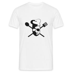Tom kocht! T-Shirt ...fehlt Salz (weiß) - Männer T-Shirt
