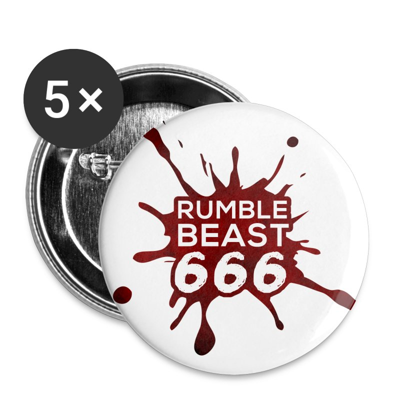 RumbleBeast666 Button - Buttons klein 25 mm