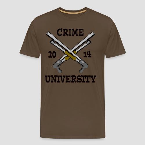 Crime University 2014  - Männer Premium T-Shirt