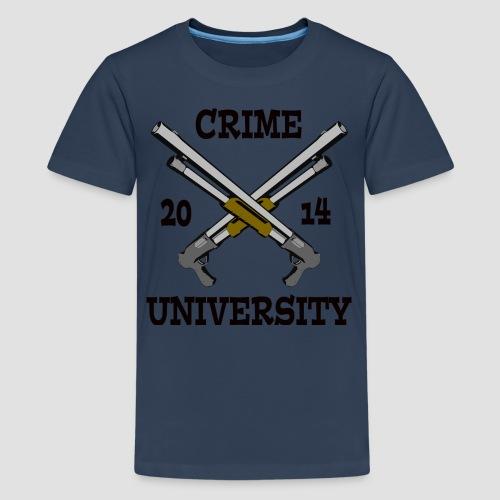 Crime University 2014  - Teenager Premium T-Shirt