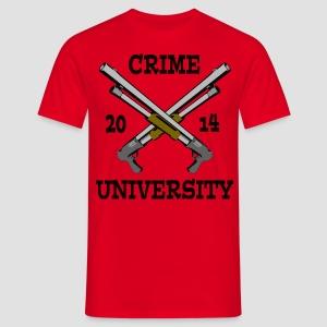 Crime University 2014  - Männer T-Shirt