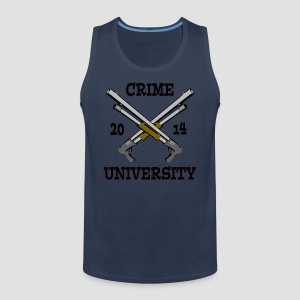 Crime University 2014  - Männer Premium Tank Top