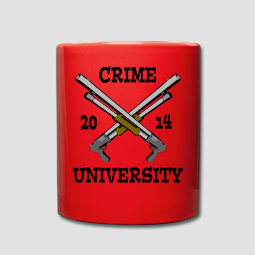 Crime University 2014  - Tasse einfarbig