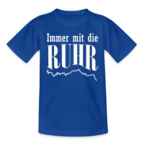 Ruhr-Kiddies blau - Kinder T-Shirt