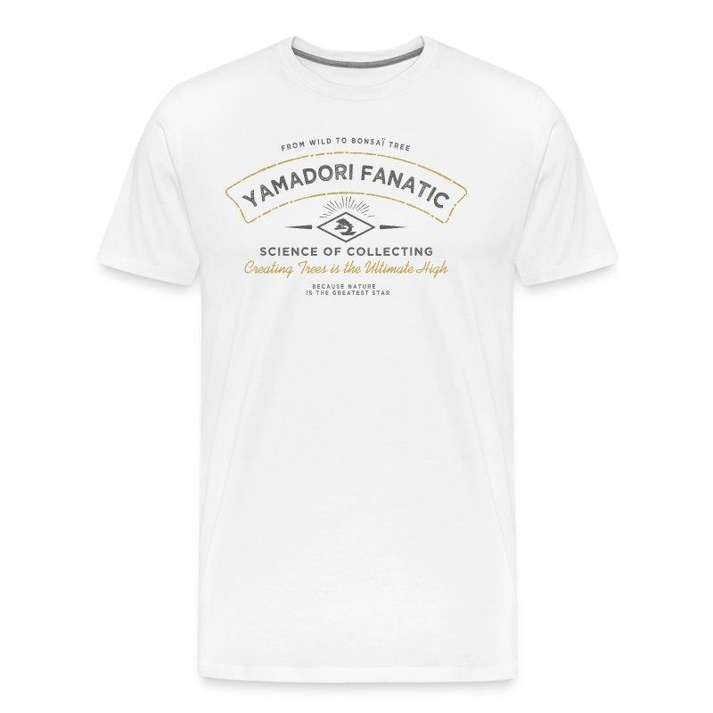 T-Shirt homme Yamadori Fanatic Noir+or - T-shirt Premium Homme