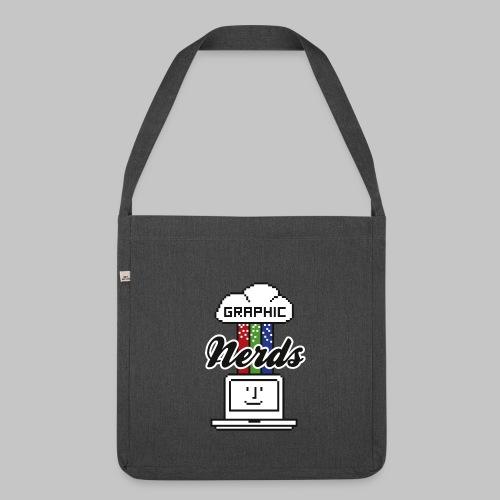 Tasche Graphic Nerds - Schultertasche aus Recycling-Material
