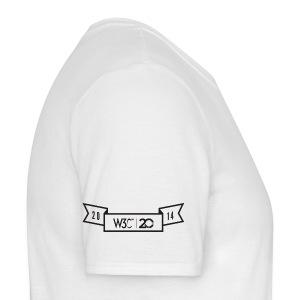 w3c20_men_white_shirt_2 - Men's T-Shirt