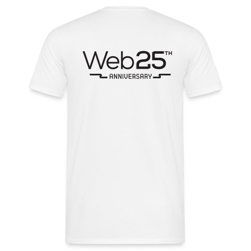 web25_men_white_shirt - Men's T-Shirt