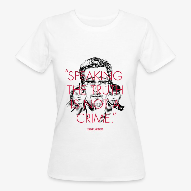 Speaking the Truth is not a Crime - Frauen Bio-T-Shirt