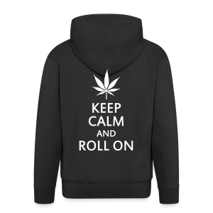 Keep Calm And Roll On - Veste à capuche Premium Homme