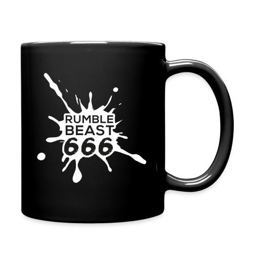 RumbleBeast66 - Doppellogo-Becher - Tasse einfarbig