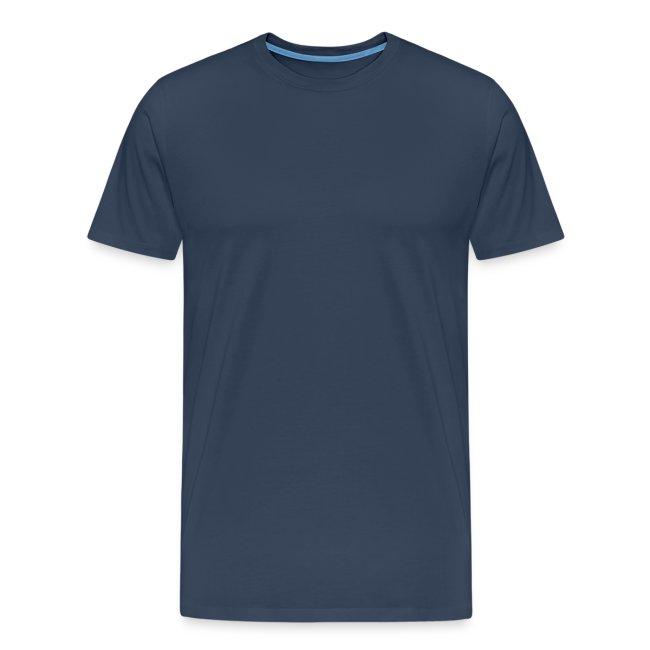 Männer Premium T-Shirt mit Logo hinten