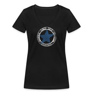 Tee-shirt Etoile Bleue - T-shirt bio col V Stanley & Stella Femme