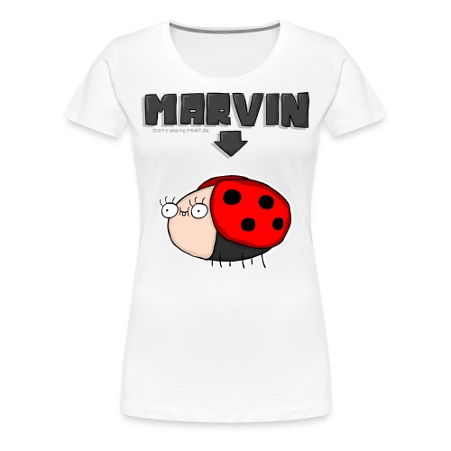 Marvin - Girls - Frauen Premium T-Shirt