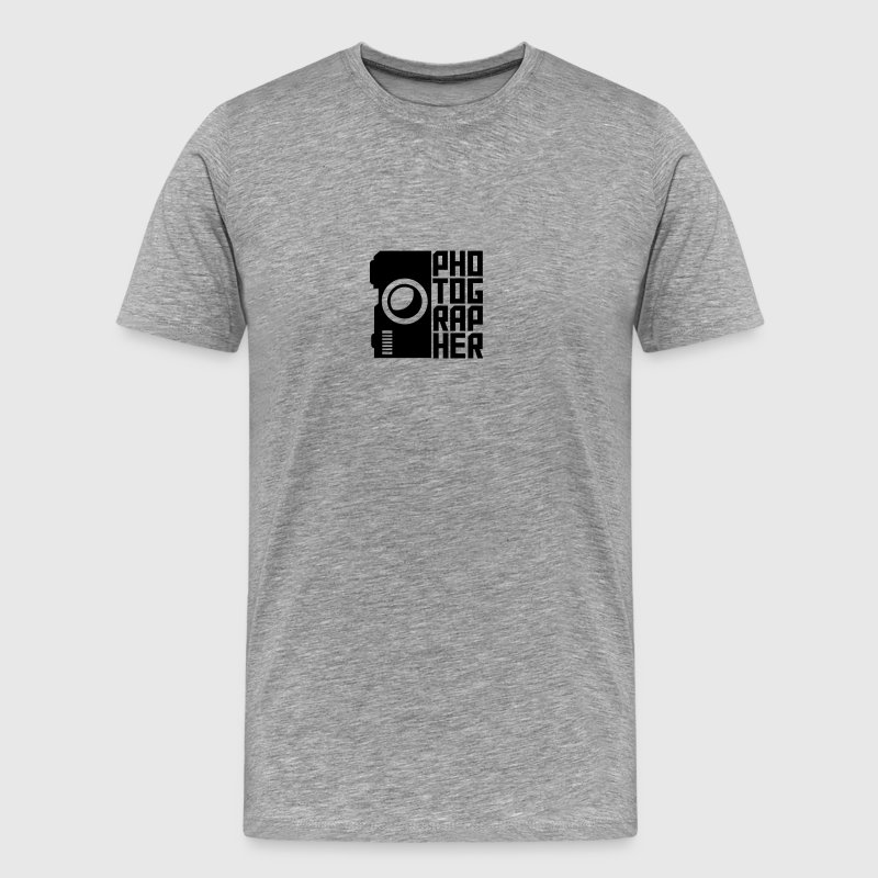 Photographer Camera Design T-Shirts - Men's Premium T-Shirt