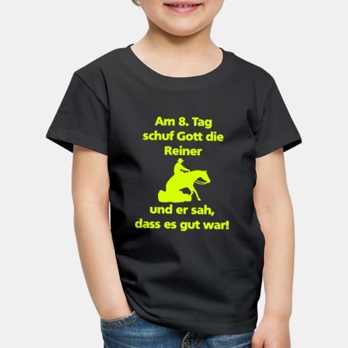 Am 8. Tag schuf Gott die Reiner Herren Shirt - Kinder Premium T-Shirt