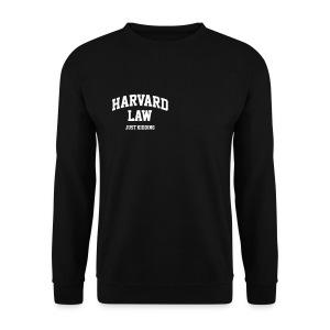 Harvard law - Mannen sweater