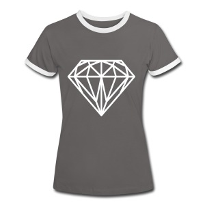 Diamant Tee shirts - T-shirt contraste Femme