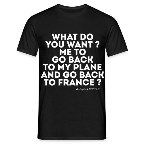 POLITICS-02 - T-shirt Homme