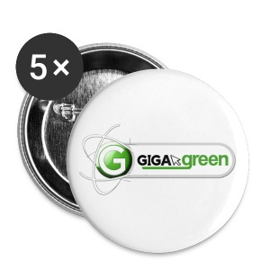 Giga Green Button - Buttons klein 25 mm