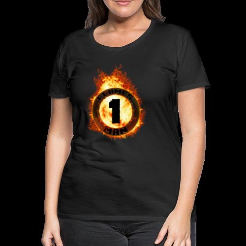 The Flames Ring [Piger] - Dame premium T-shirt