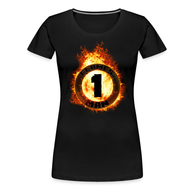 The Flames Ring [Piger] - Dame premium T-shirt