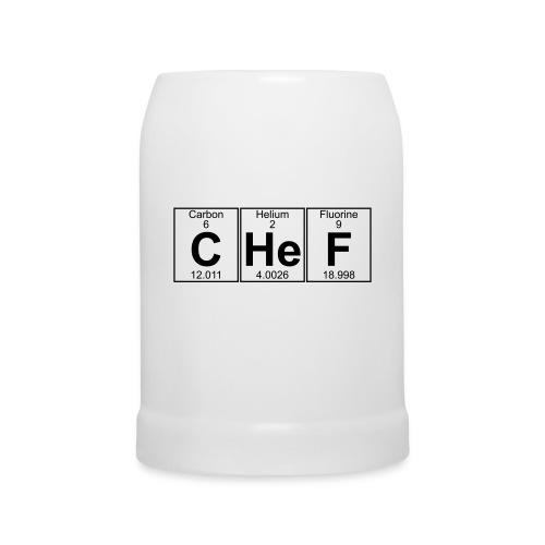 C-He-F (chef) - Beer Mug