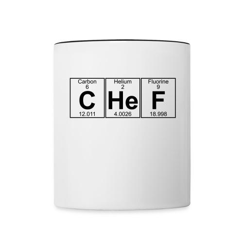 C-He-F (chef) - Contrasting Mug