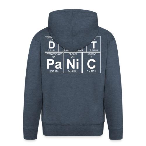 Don't Panic - Men's Premium Hooded Jacket