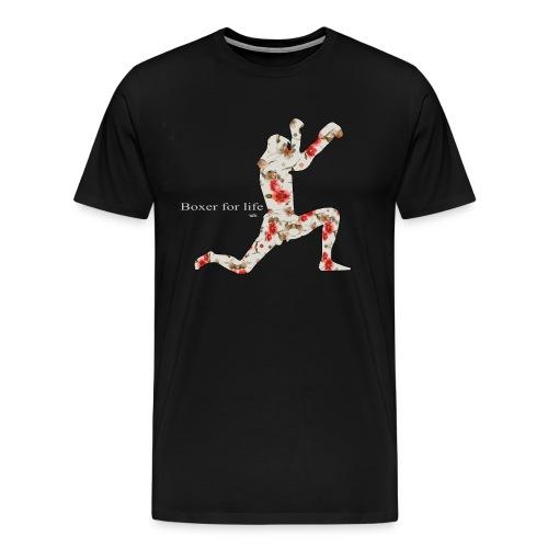 tee-shirt boxer life muay thai - T-shirt Premium Homme