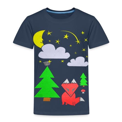 Foxy Forest (Barn) - Premium-T-shirt barn