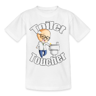 Shirts ~ Kids' T-Shirt ~ Toilet Toucher