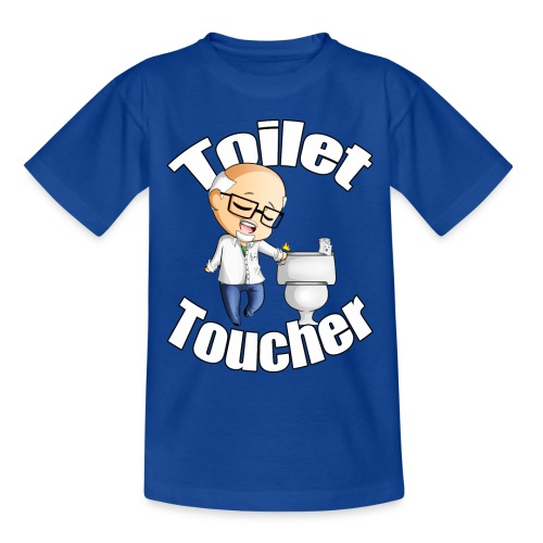 Toilet Toucher - Kids' T-Shirt