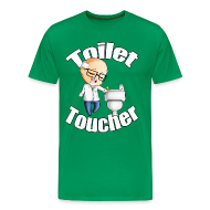 T-Shirts ~ Men's Premium T-Shirt ~ Toilet Toucher