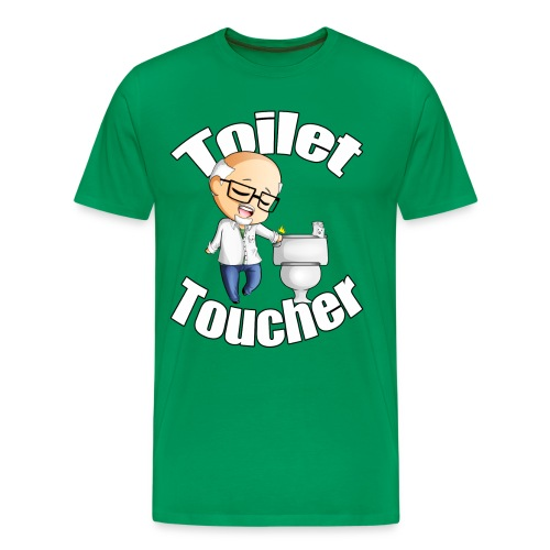 Toilet Toucher - Men's Premium T-Shirt