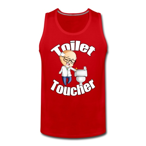 Toilet Toucher - Men's Premium Tank Top
