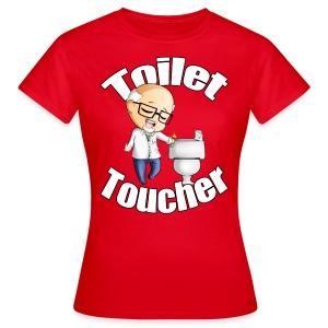 Toilet Toucher - Women's T-Shirt