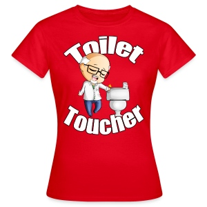 Toilet Toucher - Women's T-Shirt